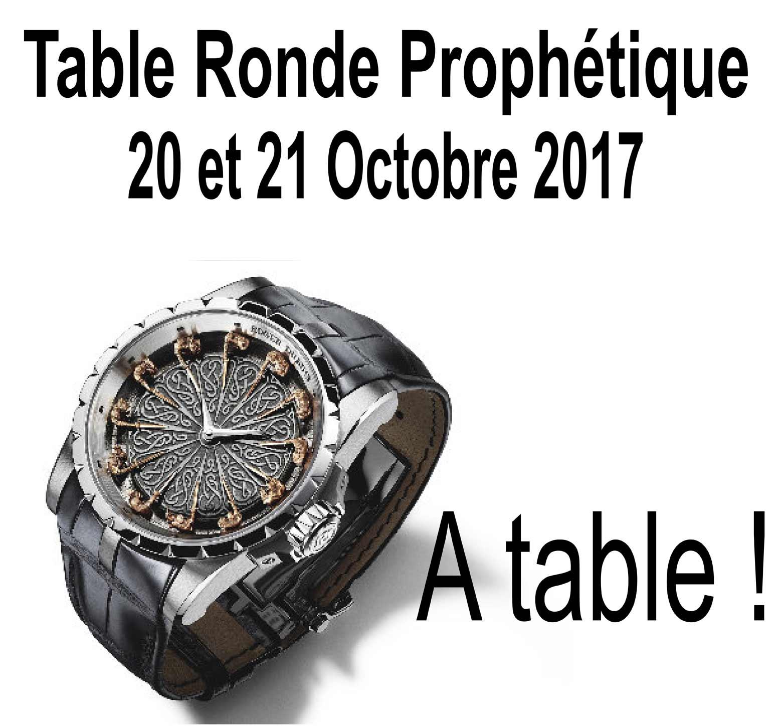 Table Ronde Prophétique